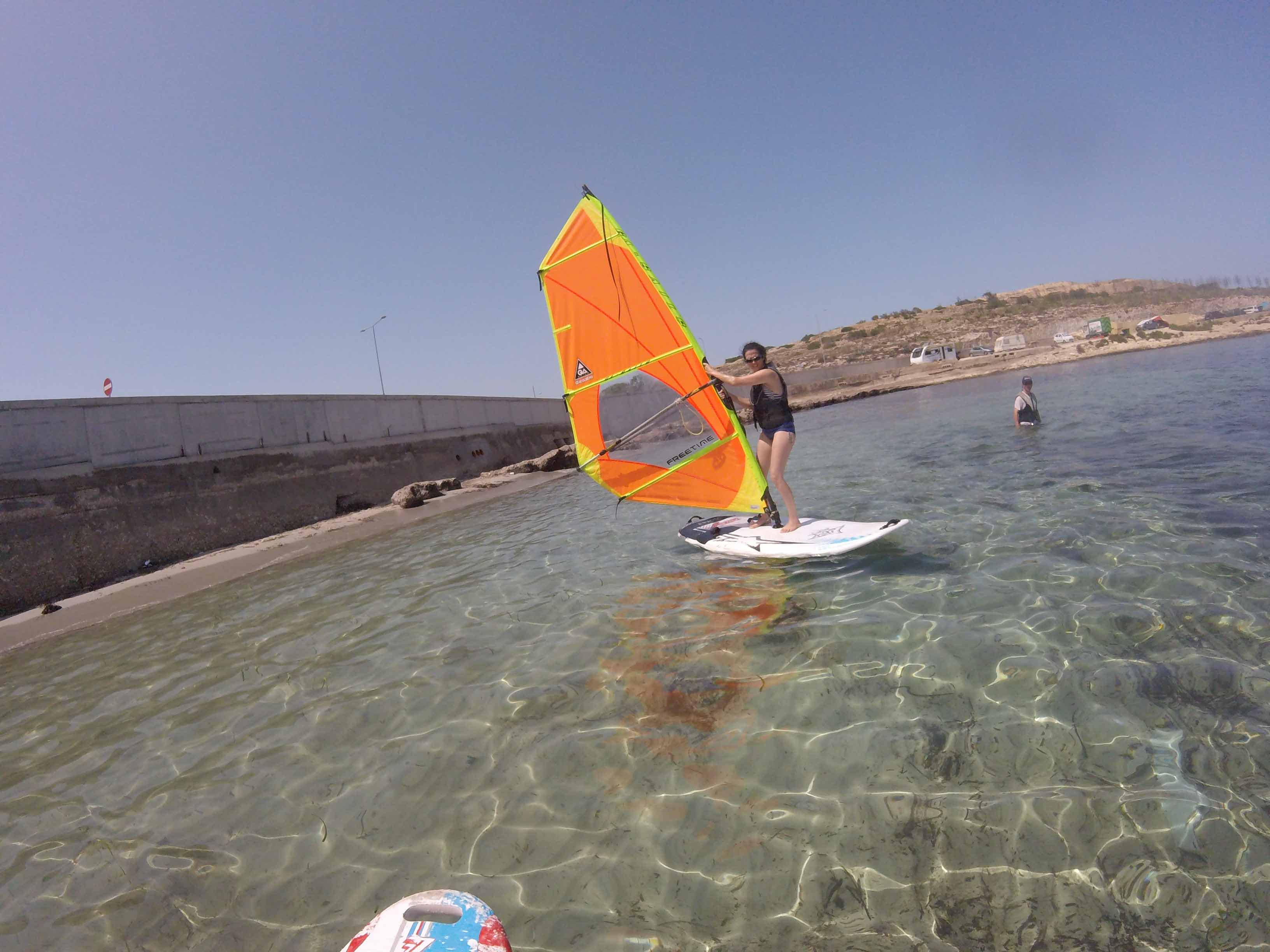 surfingmalta windsurfing school, Sup, Stand up paddle surfing, windsurfing lessons courses,  Malta , sup tours, Coral lagoon, Gnejna, Mellieha, Mscala, St Thomas bay, St P (6)